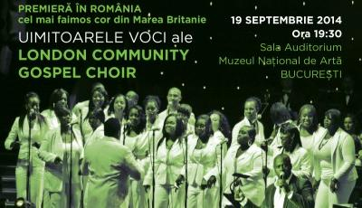 Concert London Community Gospel Choir