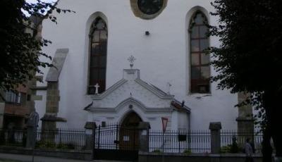 Biserica manastirii minorite, azi Biserica Ortodoxa din Bistrita
