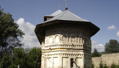 Biserica Sfantul Dimitrie a fostei Manastiri Bradu