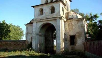 Ruinele bisericii din Frunzanesti Fundeni