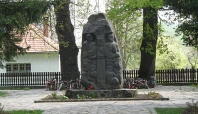 Monumentul lui Tamasi Aron din Lupeni