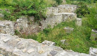 Ruinele Curtii Domnesti din Suceava Suceava