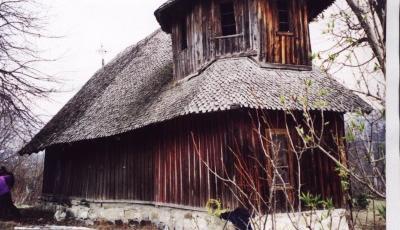 Biserica din lemn Sfantul Nicolae din Vrancioaia