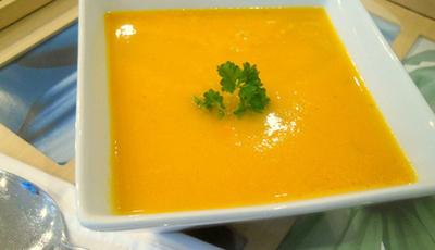 Supa de morcovi si napi