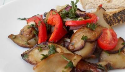 Salata de hribi