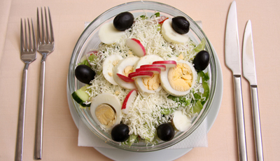 Salata dobrogeana