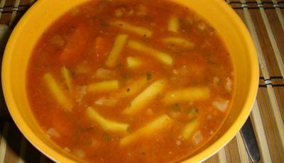 Supa de fasole verde cu chisalita